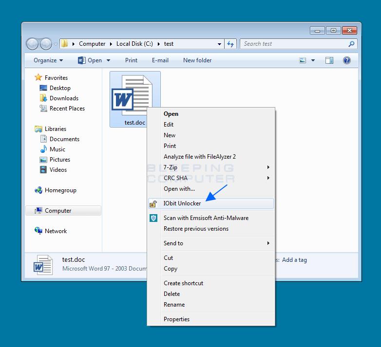 Unlocking A file